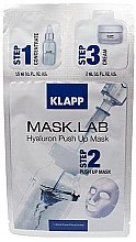 "Parfüm, Parfüméria, kozmetikum Maszk ""Hiaularon"" - Klapp Mask Lab Hyaluron Push Up Mask"