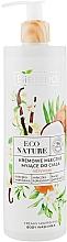Parfüm, Parfüméria, kozmetikum Krémes tusfürdő - Bielenda Eco Nature Creamy Body Wash Milk Vanilla Coconut Milk Orange Blossom