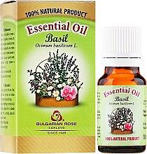 """Parfüm, Parfüméria, kozmetikum Illóolaj """"Bazsalikom"""" - Bulgarian Rose Basil Essential Oil"""