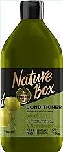 Parfüm, Parfüméria, kozmetikum Kondicionáló olívaolajjal hosszú hajra - Nature Box Conditioner Olive Oil