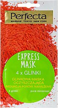 """Parfüm, Parfüméria, kozmetikum Tisztító arcmaszk """"4 agyag"""" - Perfecta Express Mask"""