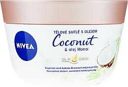 Parfüm, Parfüméria, kozmetikum Body Soufflé testápoló - Nivea Body Souffle Coconut & Monoi Oil