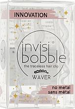 Parfüm, Parfüméria, kozmetikum Hajcsat, áttetsző csillámmal - Invisibobble Waver Sparks Flying