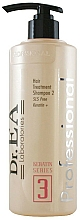 Parfüm, Parfüméria, kozmetikum Szulfátmentes sampon - Dr.EA Keratin Series 3 Hair Treatment Shampoo