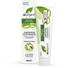 """Parfüm, Parfüméria, kozmetikum Fogkrém """"Aloe vera"""" - Dr. Organic Aloe Vera Whitening Toothpaste"""