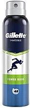 Parfüm, Parfüméria, kozmetikum Izzadásgátló dezodor - Gillette Power Rush Invisible Antiperpirant Spray