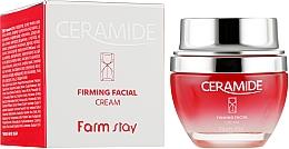 Parfüm, Parfüméria, kozmetikum Feszesítő arckrém keramidokkal - FarmStay Ceramide Firming Facial Cream