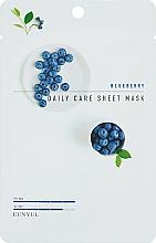 Parfüm, Parfüméria, kozmetikum Ránctalanító szövetmaszk áfonyával - Eunyul Daily Care Mask Sheet Blueberry