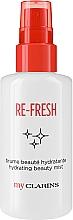 Parfüm, Parfüméria, kozmetikum Frissítő arc mist - Clarins My Clarins Re-Fresh Hydrating Beauty Mist
