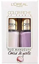 Parfüm, Parfüméria, kozmetikum Szett - L'Oreal Paris Color Riche Nail Polish (nail/polish/2x5ml) (2 x 5 ml)