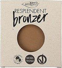 Parfüm, Parfüméria, kozmetikum Bronzosító - PuroBio Cosmetics Resplendent Bronzer (csere blokk)