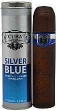 Parfüm, Parfüméria, kozmetikum Cuba Silver Blue - Eau De Toilette