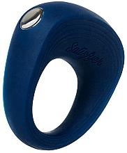 Parfüm, Parfüméria, kozmetikum Vízálló, akkus péniszgyűrű, kék - Satisfyer Rings 2