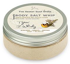 """Parfüm, Parfüméria, kozmetikum Sós zuhanyhab """"Dohány és whisky"""" - The Secret Soap Store Tobacco And Whiskey Body Salt Whip"""