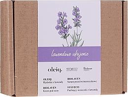 Parfüm, Parfüméria, kozmetikum Szett - Biolaven Lavender Relief (ser/30ml + eye/cr/15ml + hydrolat/100ml + pouch/30g)