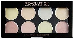 Parfüm, Parfüméria, kozmetikum Krémes highlighter bőrélénkítő paletta - Makeup Revolution Ultra Strobe Balm Palette