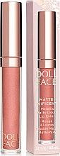 Parfüm, Parfüméria, kozmetikum Folyékony matt ajakrúzs - Doll Face Matte Metallic Liquid Lip Color