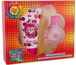 Parfüm, Parfüméria, kozmetikum Chupa Chups Cherry Burst - Szett (edt/50ml + sg/gel/150ml)