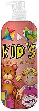 Parfüm, Parfüméria, kozmetikum Tusoló- és fürdőhab - Hegron Kid's Cherry Bath & Shower