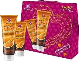 Parfüm, Parfüméria, kozmetikum Készlet - Dermacol Aroma Ritual Belgian Chocolate (sh/gel/250ml+h/cr/100ml)