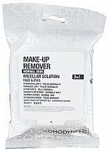 Parfüm, Parfüméria, kozmetikum Tisztító törlőkendők normál bőrre - Comodynes Make-up Remover Micellar Solution 3in1
