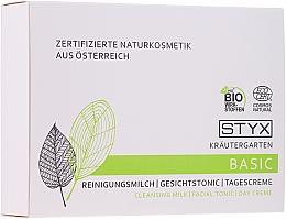Parfüm, Parfüméria, kozmetikum Szett - Styx Naturcosmetic (milk/30ml + tonic/30ml + cr/30ml)