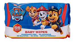 Parfüm, Parfüméria, kozmetikum Nedves törlőkendő, 56 db - Nickelodeon Paw Patrol Baby Wipes
