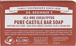 "Parfüm, Parfüméria, kozmetikum Szappan ""Eukaliptusz"" - Dr. Bronner's Pure Castile Bar Soap Eucalyptus"