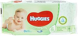 Parfüm, Parfüméria, kozmetikum Gyerek nedves törlőkendő Natural Care, 56 db - Huggies
