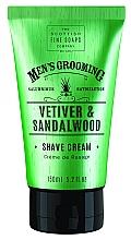 "Parfüm, Parfüméria, kozmetikum Borotva krém ""Vetiver és szantál"" - Scottish Fine Soaps Vetiver & Sandalwood Shave Cream"
