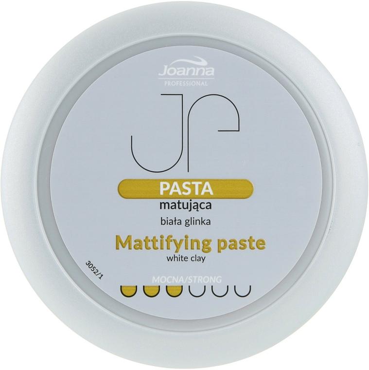 Mattító hajformázó paszta fehér agyaggal - Joanna Professiona Mattifying Paste