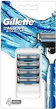 Parfüm, Parfüméria, kozmetikum Eldobható borotva pótfej - Gillette Mach3 Start Razor Blades