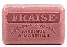 """Parfüm, Parfüméria, kozmetikum Marseille szappan """"Eper"""" - Foufour Savonnette Marseillaise Fraise"""