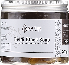 Parfüm, Parfüméria, kozmetikum Marokkói fekete szappan - Natur Planet Moroccan Beldi Black Soap