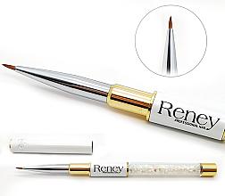 Parfüm, Parfüméria, kozmetikum Körömdíszítő ecset - Reney Cosmetics Pro Detailer AN01