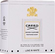 Parfüm, Parfüméria, kozmetikum Creed Love In White Perfumed Soap - Illatosított szappan
