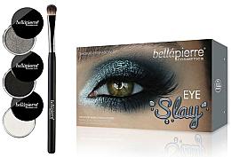 Parfüm, Parfüméria, kozmetikum Sminkkészlet szemre - Bellapierre Eye Slay Kit Smoked