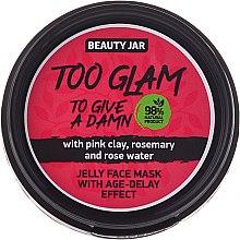 Parfüm, Parfüméria, kozmetikum Zselé-maszk ránctalanító hatással - Beauty Jar Too Glam To Give A Damn Face Mask