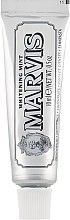 "Parfüm, Parfüméria, kozmetikum Fehérítő fogkrém ""Menta"" - Marvis Whitening Mint Toothpaste (mini)"