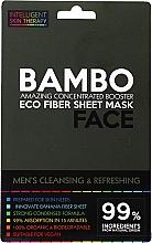 Parfüm, Parfüméria, kozmetikum Frissítő maszk tengeri sóval és bambusz kivonattal - Beauty Face Cleansing & Refreshing Compress Mask For Man