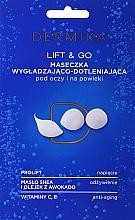 """Parfüm, Parfüméria, kozmetikum Szemkörnyékápoló maszk """"Lift & Go"""" - Dermika Smoothing and Oxygenating Mask"""