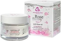 Parfüm, Parfüméria, kozmetikum Nappali arckrém - Bulgarian Rose Rose Berry Nature Day Cream