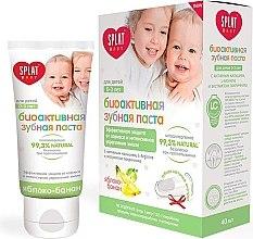 "Parfüm, Parfüméria, kozmetikum Gyerekfogkrém ""Alma-banán"", 0-3 éves korig - SPLAT Kids"