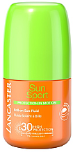 Parfüm, Parfüméria, kozmetikum Napvédő fluid arcra és testre - Lancaster Sun Sport Roll-On Fluid SPF30