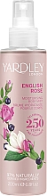 Parfüm, Parfüméria, kozmetikum Yardley English Rose - Spray testre