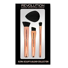 Parfüm, Parfüméria, kozmetikum Sminkecset készlet - Makeup Revolution Ultra Sculpt & Blend Sponge Brush Collection