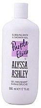 Parfüm, Parfüméria, kozmetikum Tusfürdő - Alyssa Ashley Purple Elixir Bath And Shower Gel