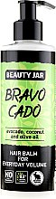 "Parfüm, Parfüméria, kozmetikum Dúsító hajbalzsam ""Bravocado"" - Beauty Jar Hair Balm For Everyday Volume"