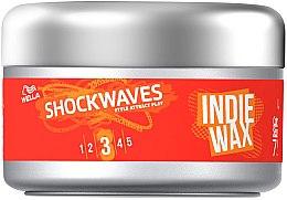 Parfüm, Parfüméria, kozmetikum Hajformázó wax - Wella ShockWaves Indie Wax