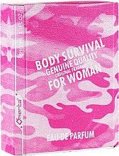 Parfüm, Parfüméria, kozmetikum Omerta Body Survival For Woman - Eau De Parfum